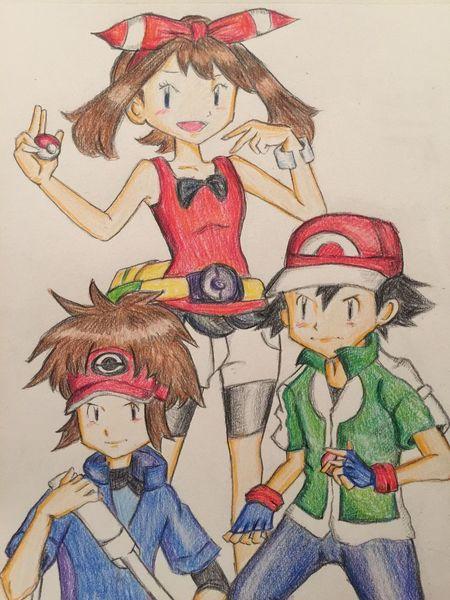ポケモン Pokémon MyDrawing Illustration Painting Taking Photos Hanging Out Check This Out Drawing こんなことしてる場合じゃないんですけどね…w