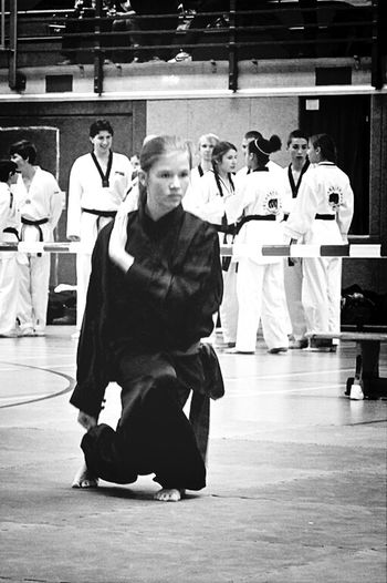 Kung Fu Technique & Concentration Just Me