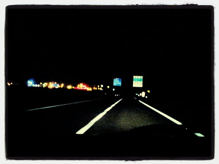 Night Driving Taking Photos On The Road Photo Night Lights Ride Or Die TheMinimals (less Edit Juxt Photography)