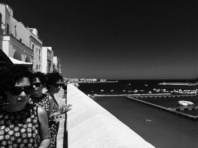 Italy Puglia Otranto Picoftheday EyeEm Best Shots Mylove Silvia Three Blackandwhite B&w Welcome To Black