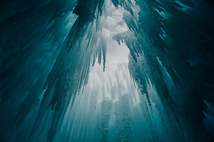 Beauty In Nature Cave Cold Temperature Day Glacier Ice Icicles Landscape Mountain Nature No People Outdoors Scenics Sea Sky Tranquil Scene Tranquility UnderSea Water Winter Fresh on Market 2017 The Great Outdoors - 2017 EyeEm Awards