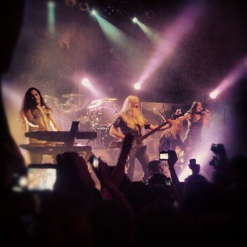 Nightwish en argentina...yo estuve ahi teatro de Flores buenos aires 15-12-12...Nightwish Imaginaerum Tuomas Holopainen Marcohietala Floorjansen Emppu Buenosaires Flores