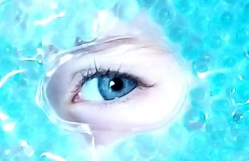 One Person Eye Human Body Part Portrait Close-up Body Part Blue Eyes Blue Human Eye Human Face Women Headshot Looking At Camera Swimming Pool Adult Young Adult Beauty Pool Turquoise Colored Beautiful Woman Eyelash Digital Composite The Mobile Photographer - 2019 EyeEm Awards