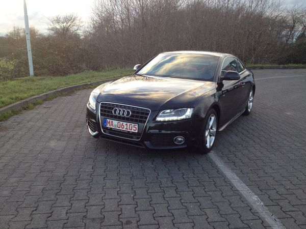 Audi Hello World My Car Awsome