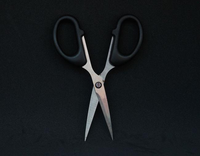 Black scissor