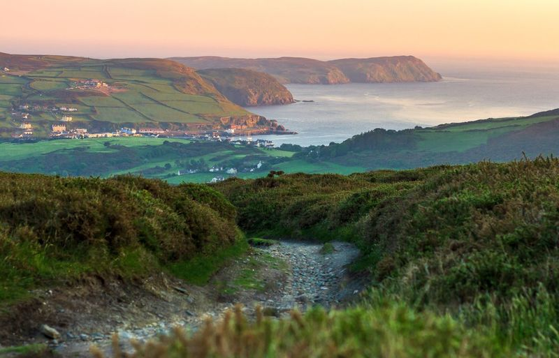 Port Erin Isle Of Man Water Sea Scenics - Nature Beauty In Nature Land Beach Environment Nature Plant Sky Landscape Tranquility Tranquil Scene No People Coastline Non-urban Scene Outdoors Bay