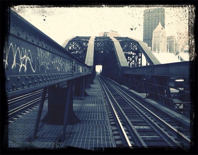 Another Pittsburgh bridge.. RailLife First Eyeem Photo