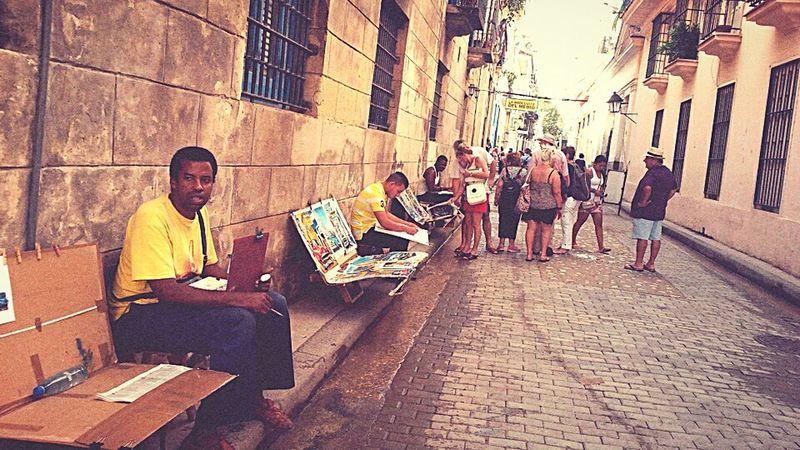Calle Empedrado, Habana, Cuba. Havana Trip Photo Bodeguita Oldie