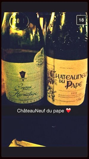 Vin Rouge Chateauneufdupape