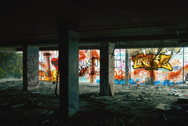 Abandoned Places Urbexphotography Graffiti Streetart