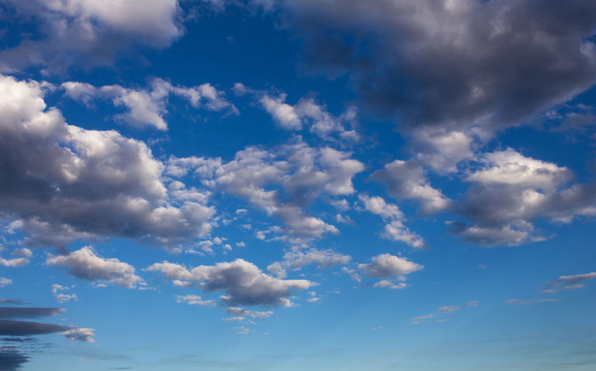 Cloud - Sky Sky Beauty In Nature Blue Tranquility Low Angle View No People Nature Scenics - Nature Day Tranquil Scene Outdoors Backgrounds White Color Idyllic Cloudscape Environment Non-urban Scene Meteorology