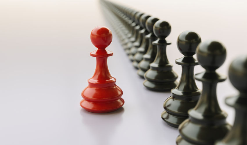 Leadership concept, red pawn of chess, standing out from the crowd Winner Win Vision Teamwork Team Tactic SUPPORT Success Studio Shot Strategy Still Life Steady STAND Skills  Selective Focus Responsible Responsibility Relaxation Red Queen - Chess Piece Power Play Pieces Pawn - Chess Piece Pawn No People Motivation Motivated Mission Logic Leisure Games Leisure Activity Leadership Leader Lead Knight - Chess Piece King - Chess Piece Inspire Inspiration Influence Indoors  Idea Group Game Front Forward Followers Follow Different Defense Crowd Corporate Concept Competition Close-up Chess Piece Chess Board Chess Challenge Business Bullying Board Game Black Battle Background Arts Culture And Entertainment