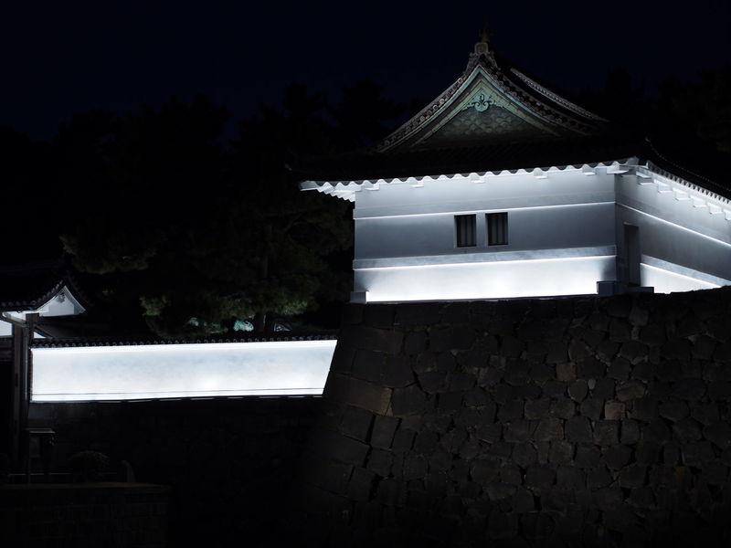 Japan Sakuradamon Tokyo Architecture Building Exterior Built Structure Night No People