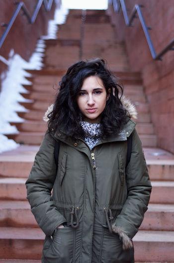 Arabgirl Day Outdoors Poland Polishgirl Portrait Warsaw Woman