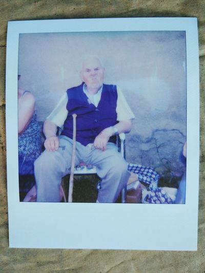 Aujourd'hui cest l'anniversaire de Paul : 90 ans de canaillerie Birthday Anniversaire Polaroid 100people