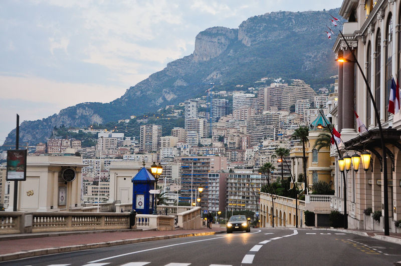 Architecture Building Exterior Built Structure Car Cars City City Life City Street Diminishing Perspective Driving Formula 1 Formula1 Mein Automoment Monaco MonacoGP Mountain Residential Building Road Road Road Marking Sky Street Street Photography The Way Forward Traffic