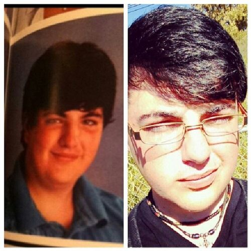 From 8th grade to 10th grade.... Lord have mercy... I have changed!!! Throwbacktuesday Omg 8thGrade 10thgrade
