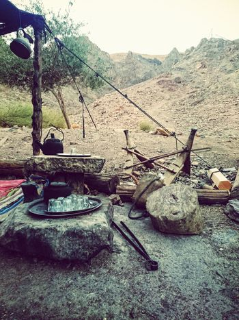 Tea Time Mountains Colected Comunity Desert