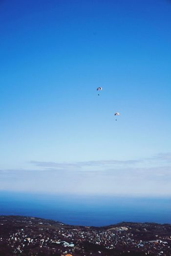 Sky Sky_collection Sea Sea And Sky Seascape Blue Blue Sky Flying Fly