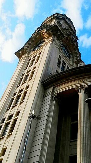 São Paulo Castle Blue Sky Sunny Day Sdds Culture Walking Around Beautiful
