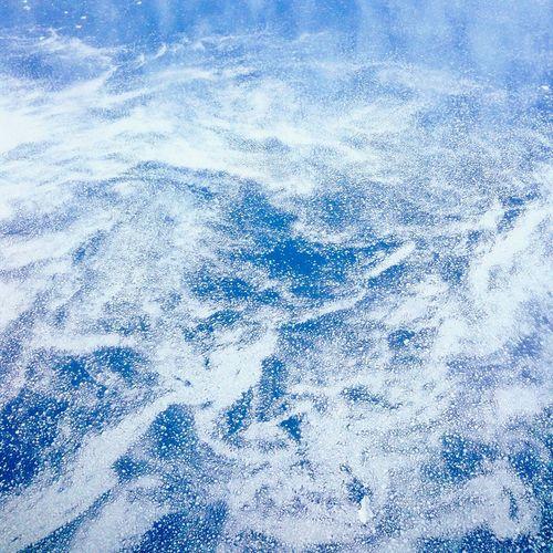 Ice Iceburg Aerial View Blue Cold Temperature Ocean Sea Water