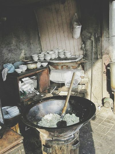China 中国 上海 Shanghai Fried Rice 炒饭 The Bund 外滩 吃饭 Lunch Time! Indoors  Old Obsolete Collection Man Made Object No People Messy Weathered Traditional Chinese Traditional China 传统 传统中国 First Eyeem Photo China EyeEm Best Shots - Architecture