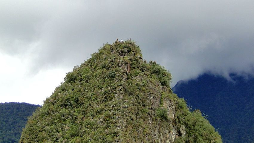 The Purist (no Edit, No Filter) Huayna Picchu From My Point Of View Mountain Popular Photos Macchu Picchu Peru Travel Eye4photography  EyeEm Best Shots Walking Around Low Angle View Exploration