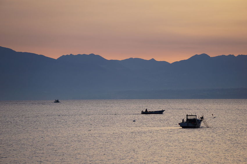 Sicilia Sicily Sicily, Italy Soft Soft Light Dawn Dawn Collection Dawn Of A New Day Dawn Patrol Dawning Fish Fisherman Fishermen Fishing Fishing Boat Italy Pink Color Sea Sea And Sky Seascape Seaside Soft Colors  Soft Focus Sun Sunset