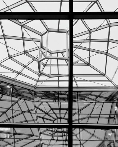 EyeEmNewHere Indoors  Architecture Built Structure No People Day Copernicus Center Througthewindow Warsaw Poland Lets Travel Enjoying The View