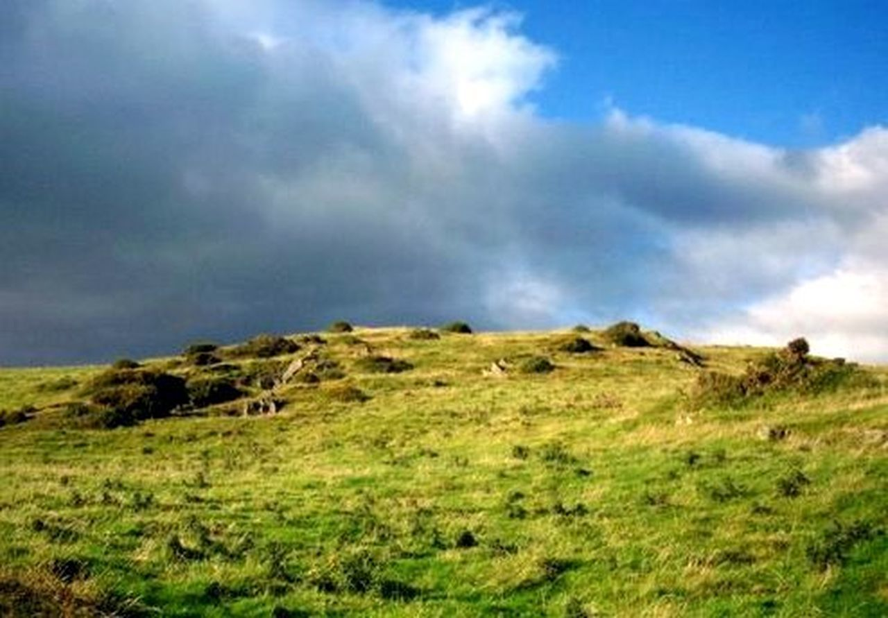 Blue Sky And Clouds Blue Sky And White Clouds Cloud - Sky Day Grass Hillside Hillside View Lake District Lake District National Park Landscape Nature No People Outdoors Peace Peace And Quiet Peaceful Sky