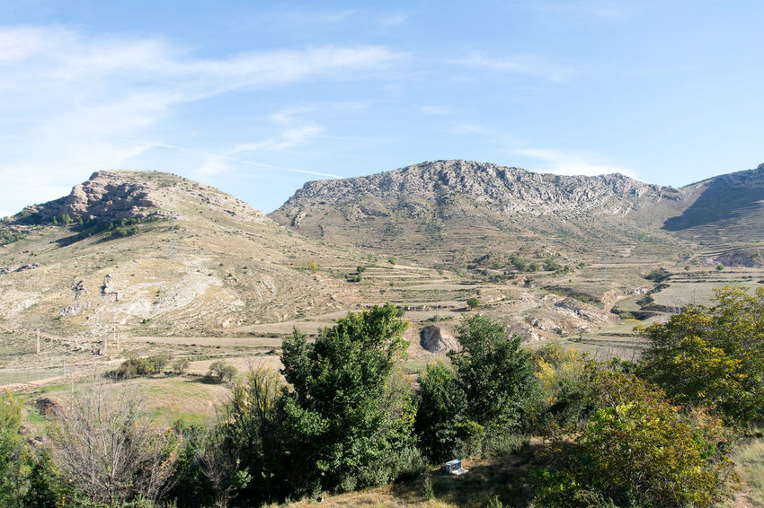 Utrillas Terual Moseo minerio y alrededores. Octubre 2018 2018 October Teruel Utrillas Beauty In Nature Cloud - Sky Day Eddl Environment Growth Idyllic Land Landscape Mountain Mountain Peak Mountain Range Nature No People Non-urban Scene Outdoors Plant Scenics - Nature Sky Tranquil Scene Tranquility Tree