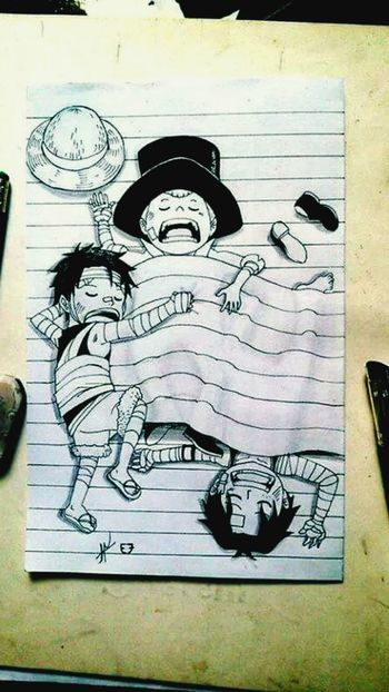 Art Drawing Art, Drawing, Creativity Anime Onepice I like this draw nice work !!
