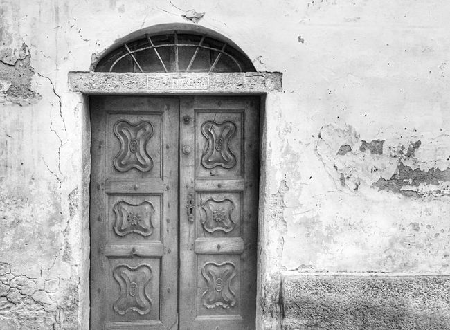 Built Structure Architecture Building Exterior Abandoned Blackandwhite Door
