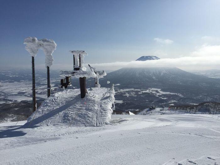Chair Lift Day Japan Japow Outdoors Ski Hill Ski Lift Skiing Sky Snow Snowboarding Sunny Winter Yotei