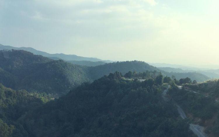 山 风景 手机拍摄