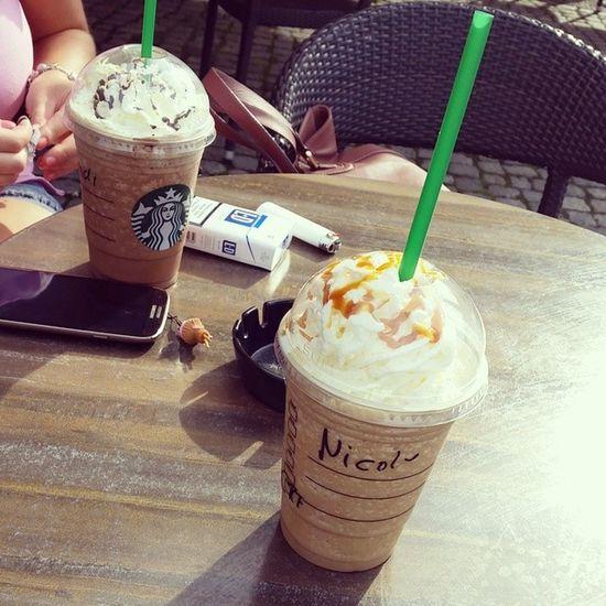Starbucks Frappucino Sunny Day mit meiner süßen