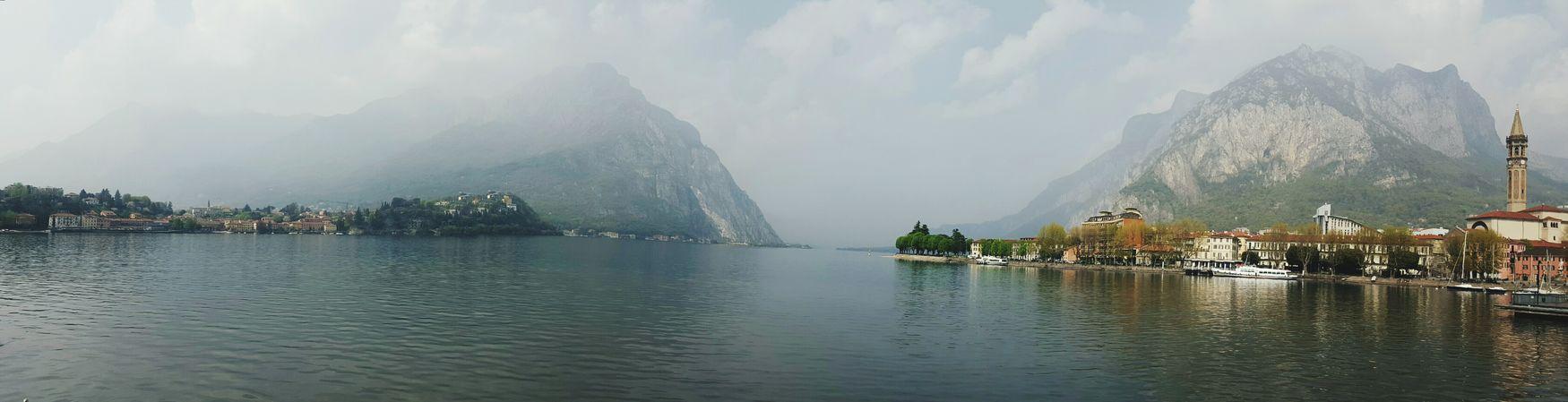 Lecco lake,Como Italy School