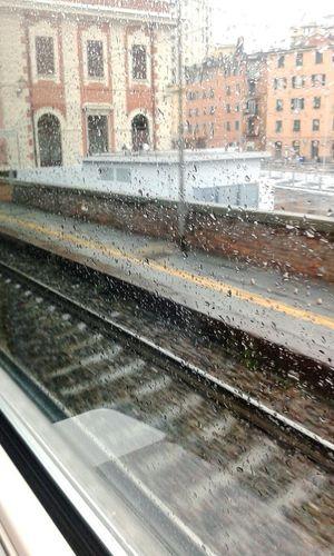 Viaggiando in treno