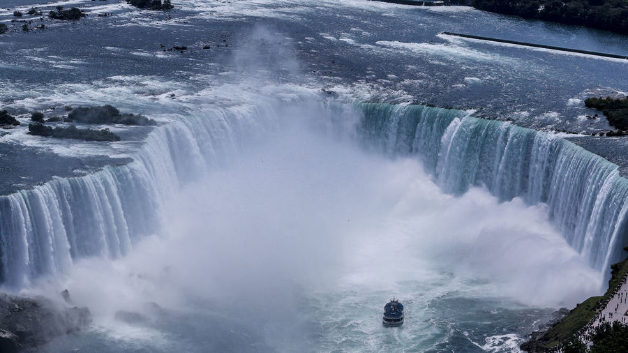 Niagara Falls Marcweberde Water Waterfall Scenics - Nature Beauty In Nature Motion Flowing Water Splashing Power Long Exposure Power In Nature Tourism Sport Blurred Motion Nature Day Surfing Travel Destinations Aquatic Sport Flowing Outdoors Falling Water The Great Outdoors - 2019 EyeEm Awards