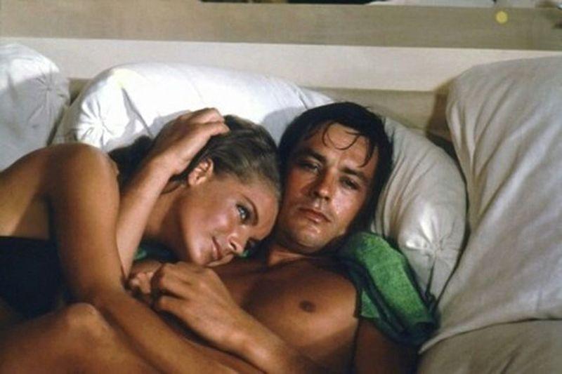Alaindelon RomySchneider 1969 Beautiful Couple  Love Idols Throwback Perfection