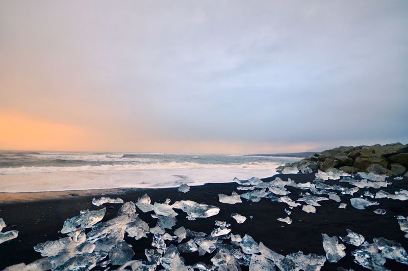 Ice Sea Sky
