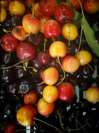 Fruit Cherry Red Yellow Cibachrome E6