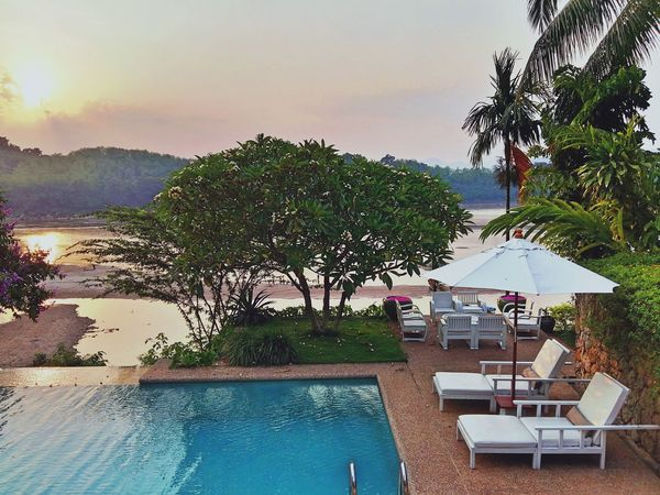 Laos Laungprabang Slow Life Sunset Travel Photography EyeEm Gallery Holiday Taking Photos Enjoying Life Hotel