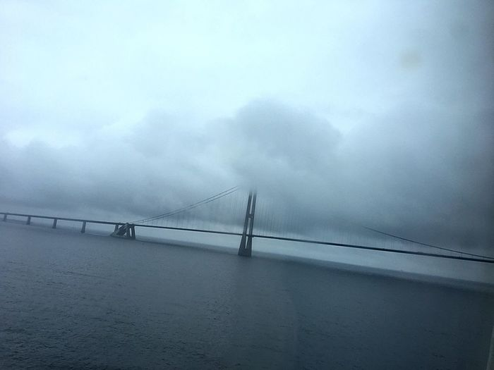 On the way to norway... 30.06.17 Fog Water No People Cloud - Sky Bridge First Eyeem Photo EyeEmNewHere EyeEm Selects