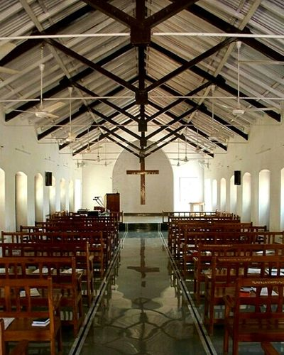 Holy Symetry. Church Churches Small Churches Leprosy Mission Leprosy Hospital Ascetic India