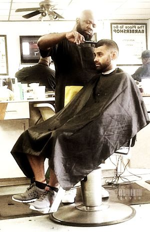 Chillin' at the shop. Haircut Getting Fresh Barbershop People Photography People Taking Photos Peoplephotography Monochrome