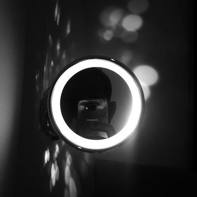 Sundayselfiescomesearly Mirrorselfie Sundayselfies Blackandwhitephoto Black&white Hotelroom Reflection