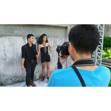 The search is on || Our BTS shoot for UPLB Kaiban's Mr and Ms Pakusganay 2013 UPLB Uplbkaiban Mrandmspakusganay Themanansala photography bts instapic instagram instagraphy hashtag igers