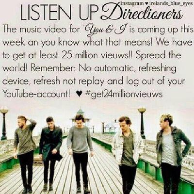 Spread the word! We can do this!!! 1D Onedirection Zaynmalik  Niallhoran harrystyles louistomlinson liampayne