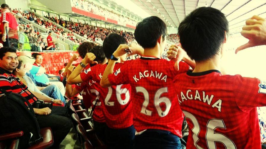Shinjikagawa Manchester United Oldtrafford The Traveler - 2015 EyeEm Awards The Moment - 2015 EyeEm Awards